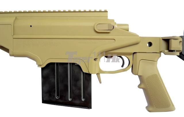 VFC APO ASW338LM Bolt Action Gun;KSC H&K USP .45 GBB;KSC M93RII GBB VFC-ASW338-TN01-9