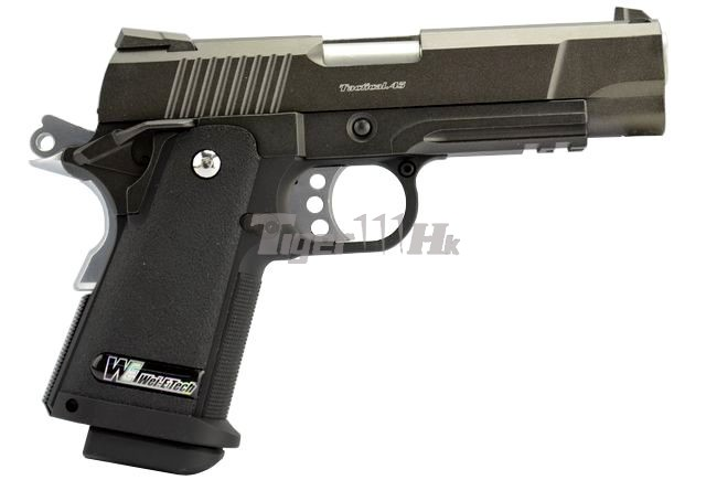 WE HI-CAPA 4.3 OPS-Tactical Full Metal GBB Pistol (w/ Marking)