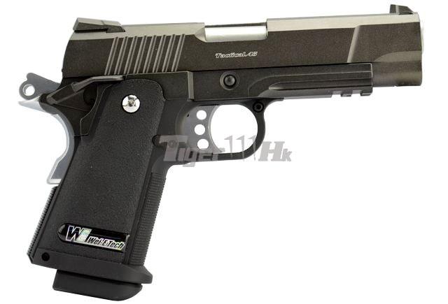 [WE] XDM .45 Compact 3.8 GBB Pistol (Black)(Tan); Hi-Capa 4.3 OPS Tactical GBB Pistol WE-GBB-4.3-NEW-BK-WM-2