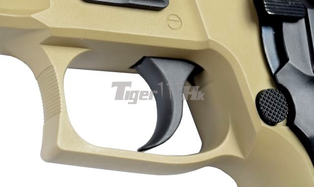 WE Tactical Rail Pistol for MK25(1) & F226 E2(1);MAGPUL Maglink Magazine Coupler WE-GBB-MK25-R-TAN-11