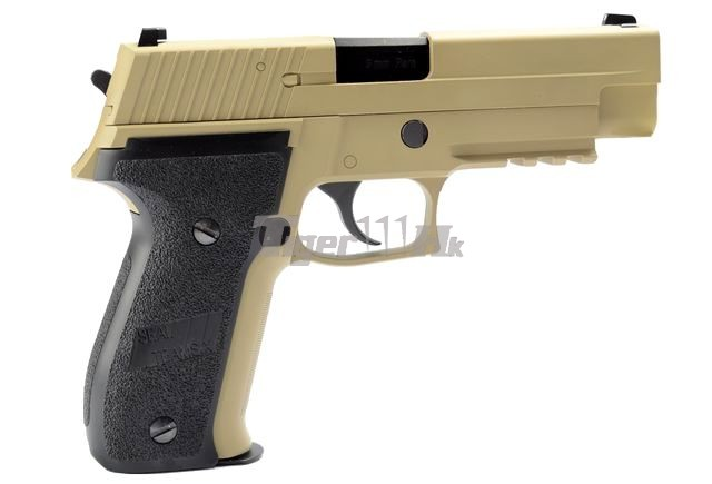WE Tactical Rail Pistol for MK25(1) & F226 E2(1);MAGPUL Maglink Magazine Coupler WE-GBB-MK25-R-TAN-2