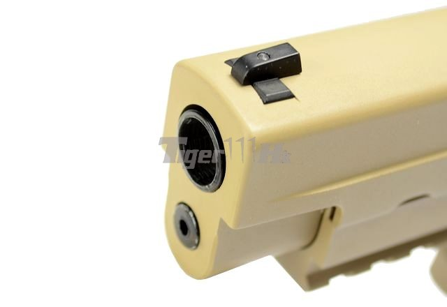 WE Tactical Rail Pistol for MK25(1) & F226 E2(1);MAGPUL Maglink Magazine Coupler WE-GBB-MK25-R-TAN-3