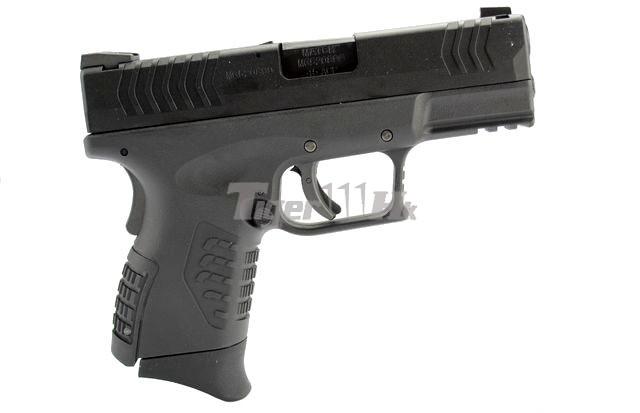 [WE] XDM .45 Compact 3.8 GBB Pistol (Black)(Tan); Hi-Capa 4.3 OPS Tactical GBB Pistol WE-GBB-XDM-3.8-BK-2