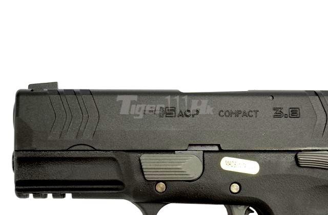 [WE] XDM .45 Compact 3.8 GBB Pistol (Black)(Tan); Hi-Capa 4.3 OPS Tactical GBB Pistol WE-GBB-XDM-3.8-BK-8