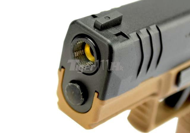 [WE] XDM .45 Compact 3.8 GBB Pistol (Black)(Tan); Hi-Capa 4.3 OPS Tactical GBB Pistol WE-GBB-XDM-3.8-TAN-5