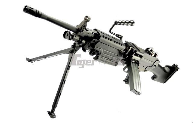 CA CA249 MKII AEG;WA M4A1 CQB-R GBB Rifle;Flyye MOLLE Double M4/M16 Magazine Pouch CA-CA005M-1