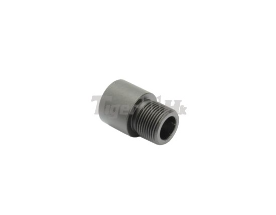 G p metal barrel thread adaptor cw to ccw adapter for