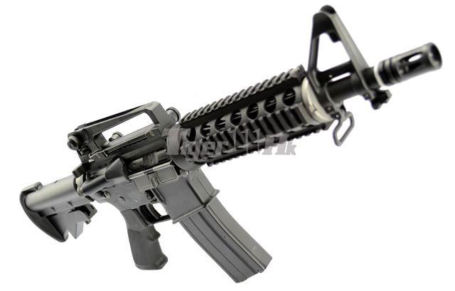 CA CA249 MKII AEG;WA M4A1 CQB-R GBB Rifle;Flyye MOLLE Double M4/M16 Magazine Pouch WA-GBB-M4A1-CQB-R-WP-3