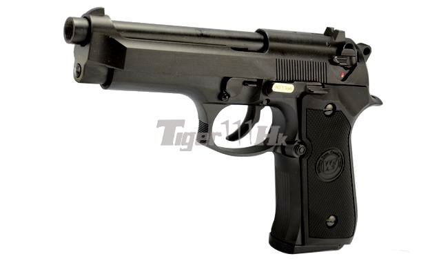 Spartan Doctrine Silencer Special Offers;WE M92 GBB Pistol;WE 18rds Magazine WE-GBB-M9-AUTO-NM-BK-1
