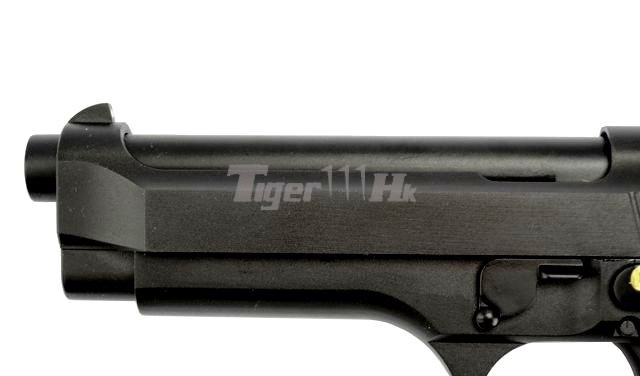 Spartan Doctrine Silencer Special Offers;WE M92 GBB Pistol;WE 18rds Magazine WE-GBB-M9-AUTO-NM-BK-6