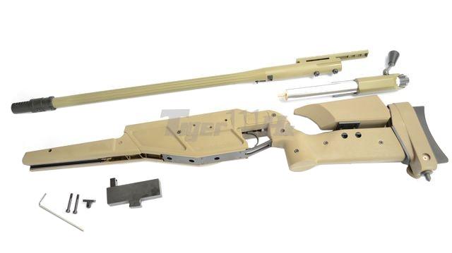 King Arms R93 LRS1 Rifle! MADBULL Launcher Adapter! EC M4 Mag! KA-AG-87-DE-15
