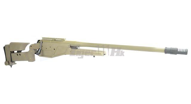King Arms R93 LRS1 Rifle! MADBULL Launcher Adapter! EC M4 Mag! KA-AG-87-DE-2