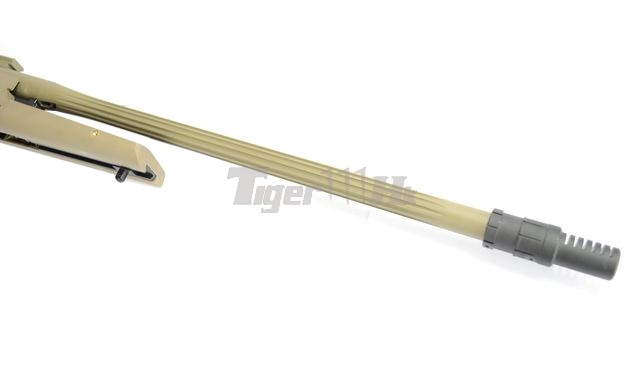 King Arms R93 LRS1 Rifle! MADBULL Launcher Adapter! EC M4 Mag! KA-AG-87-DE-4