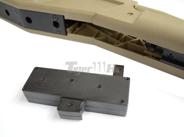 King Arms R93 LRS1 Rifle! MADBULL Launcher Adapter! EC M4 Mag! KA-AG-87-DE-8