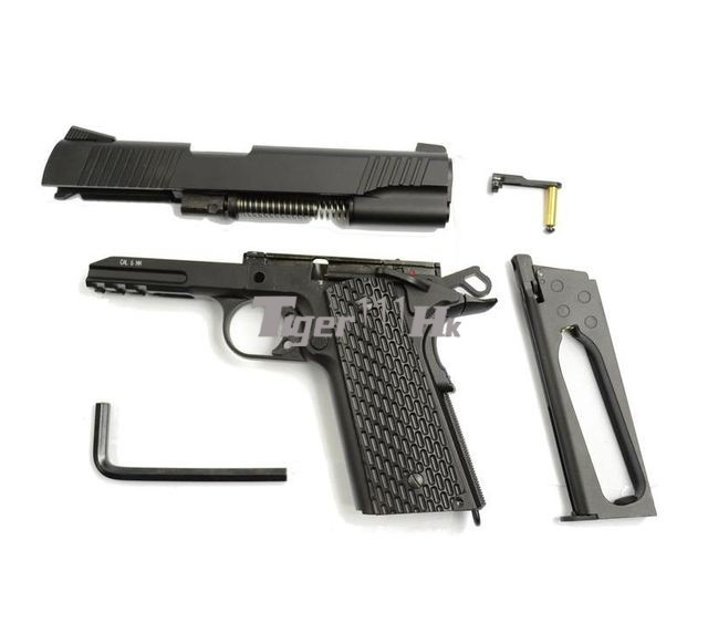 KWC M1911 CO2 Pistol! Zeon Gun HI-CAPA 5.1!ECHO1 M240B Medium Machine Gun! KWC-KCB-77AHN-BK-4