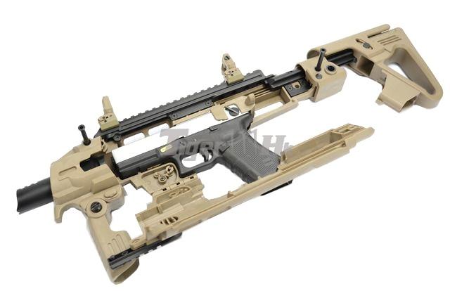 Just US$41.5 buy GBB; Pistol-Carbine conversion; PX4 GBB CAD-SK-01-DE-11