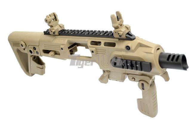 Just US$41.5 buy GBB; Pistol-Carbine conversion; PX4 GBB CAD-SK-01-DE-2