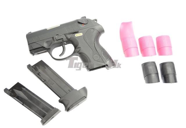 Just US$41.5 buy GBB; Pistol-Carbine conversion; PX4 GBB WE-GBB-BULLDOG-BK-15