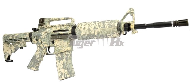 UMAREX H&K Licensed G36C AEG; King Arms Navy Seal M4A1 AEG; King Arms M4 Special Kit KA-AG-123-ACU-2