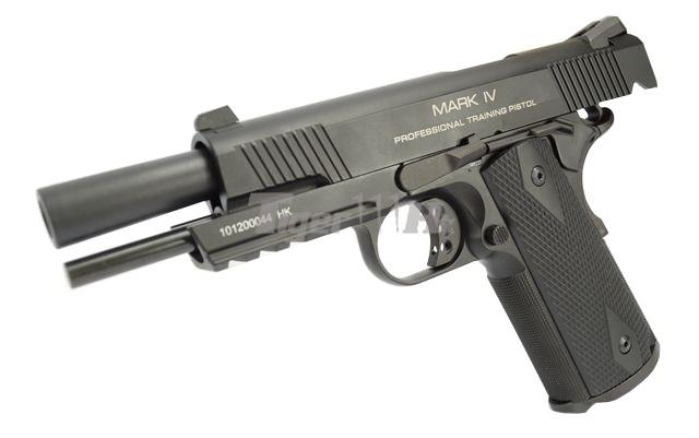 KWA M1911 PTP GBB; SOCOM Gear Licenced Rifle x2 KWA-GBB-M1911-MK4-BK-2