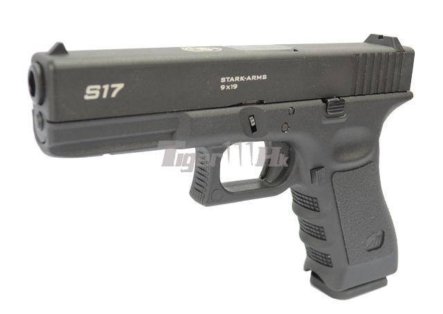 WE 999 RAS / 999E Assault AEG & Stark Arms S17 GBB STARK-GBB-S17-BK-1