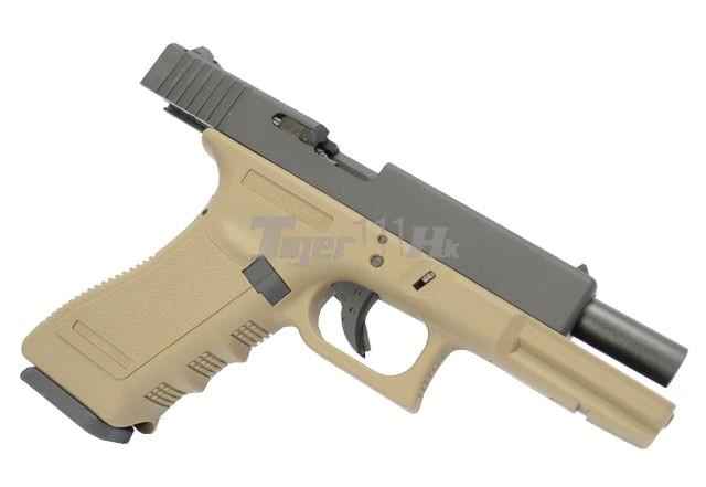WE 999 RAS / 999E Assault AEG & Stark Arms S17 GBB STARK-GBB-S17-TAN-7