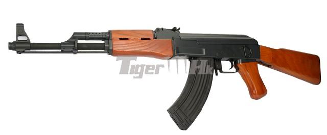 The Series of CYMA AEG; G&P M870 Shogun; KWA LM4 GBB Assault Rifle CYMA-CM042-WOOD-1