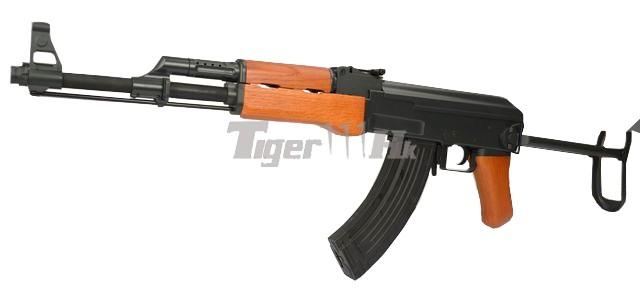 The Series of CYMA AEG; G&P M870 Shogun; KWA LM4 GBB Assault Rifle CYMA-CM042S-WOOD-1