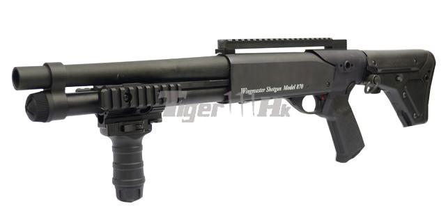 The Series of CYMA AEG; G&P M870 Shogun; KWA LM4 GBB Assault Rifle GP-SHG011-1