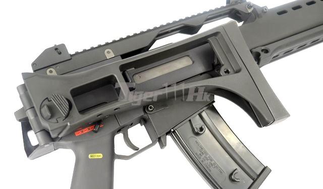WE 999 RAS / 999E Assault AEG & Stark Arms S17 GBB WE-AEG-999E-BK-12