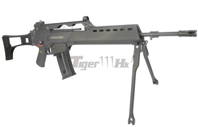 WE 999 RAS / 999E Assault AEG & Stark Arms S17 GBB WE-AEG-999E-BK-2