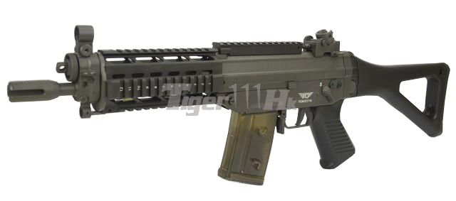 Magpul PTS PDR SMG AEG & Jing Gong's Electric Gun JG-082BL-II-SIG552-1