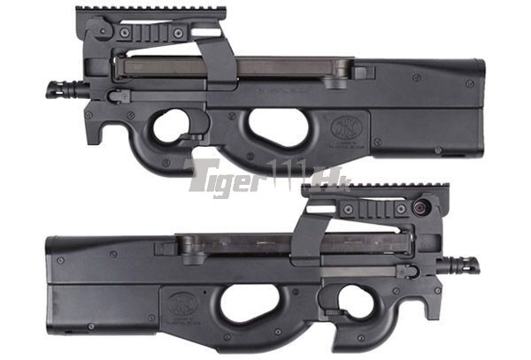 King Arms Fn P90 Tactical Smg Aeg Ultra Grade Black