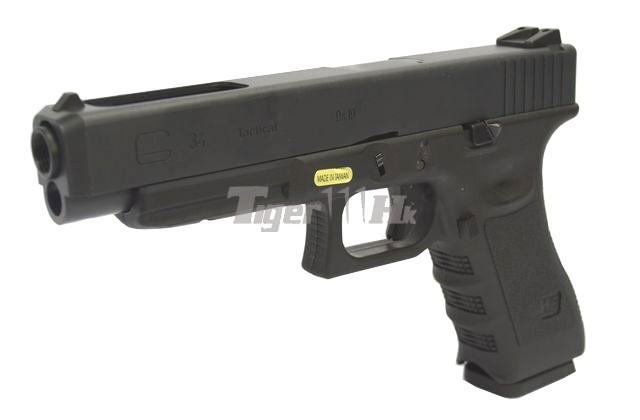 WE Series GBB; UMAREX's GBB & AEG WE-GBB-G34-BK-1