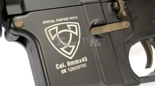 Aps m4 ris electric blowback rifle (asr 104, hybrid gearbox)