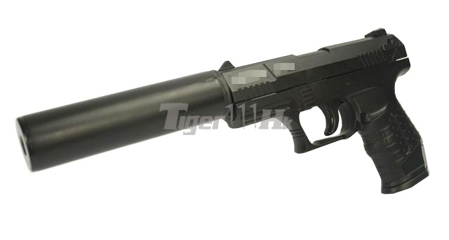 Metal W99 Spring Pistol With Silencer Black Airsoft Tiger111HK Area 640x343.