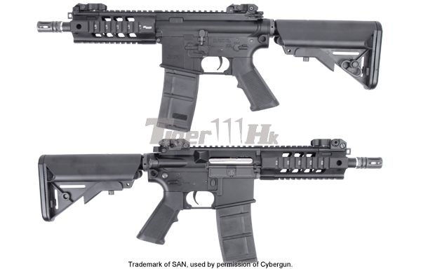 King Arms Lincenced Metal Sig 516 Pdw Aeg Black Airsoft