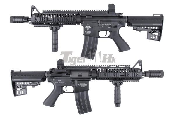 BOL 15%off ; King Arms Vltor AEG VIS Carbine/VIS CQBR/CASV-M KA-AG-159-S-BK-1