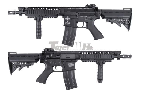 BOL 15%off ; King Arms Vltor AEG VIS Carbine/VIS CQBR/CASV-M KA-AG-160-BK-1