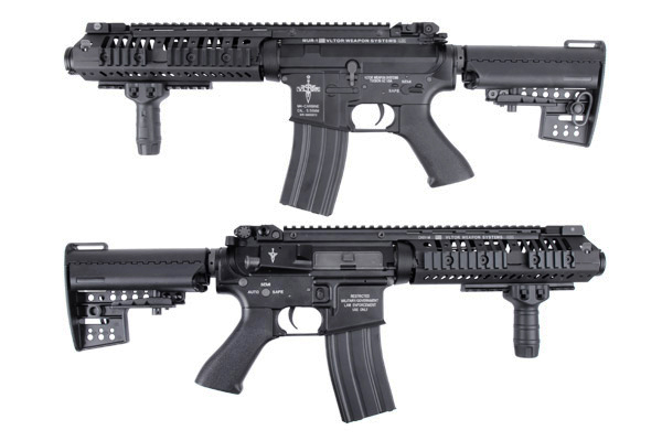 BOL 15%off ; King Arms Vltor AEG VIS Carbine/VIS CQBR/CASV-M KA-AG-161-BK-1
