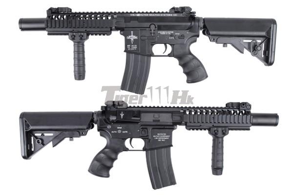 BOL 15%off ; King Arms Vltor AEG VIS Carbine/VIS CQBR/CASV-M KA-AG-162-BK-1