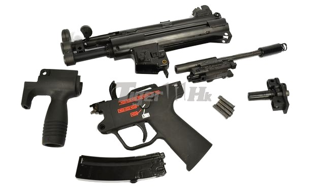 Weekend Promo KSC;New Arrival WE Metal M5K SMG GBB;LS GBB Pistol WE-GBB-APACHE-BK-13
