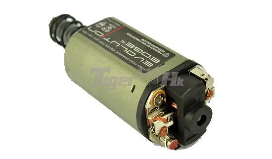 Aps aeg ebb evolution edge motor long type airsoft for Long type motor airsoft