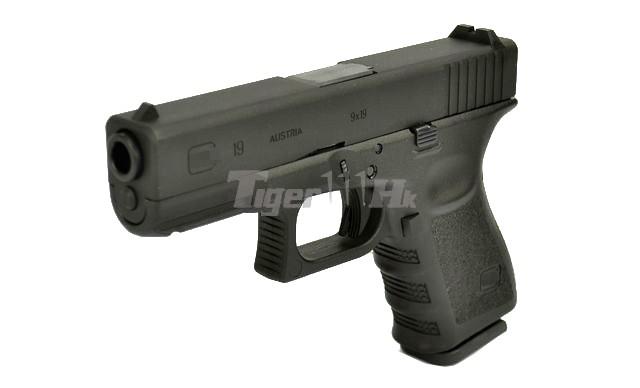 Stark Arms Metal Slide G19 Gbb Pistol W Marking Black Airsoft