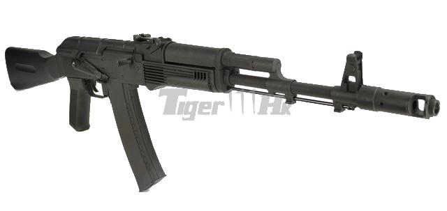 CYMA AK74 Assault Rifle AEG (CM.031, Black) Airsoft Tiger111HK Area