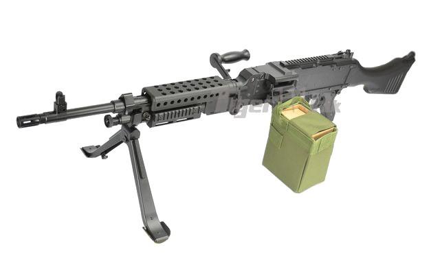 M240b Airsoft Jing Gong Metal M240B ...