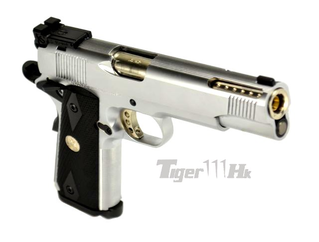 (New Arrival)AMRY R29 & R30 in Silver / PPS M870 Gas Shotgun ARM-GBB-R30-SV-1