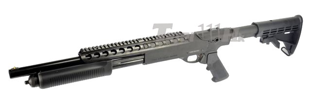 (New Arrival)AMRY R29 & R30 in Silver / PPS M870 Gas Shotgun PPS-SG-M870-RAS-BK-1