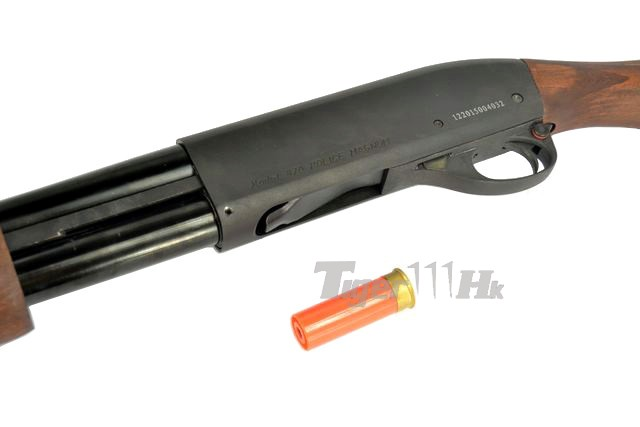 (New Arrival)AMRY R29 & R30 in Silver / PPS M870 Gas Shotgun PPS-SG-M870-SAW-OFF-WOOD-7