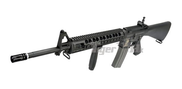 Gd 320mm Metal Handguard M16a4 Dtw Max3 Aeg Black Airsoft